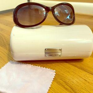 Jimmy Choo black sunglasses